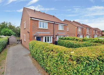 Thumbnail 2 bed semi-detached house for sale in Geldof Road, Huntington, York