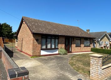 Thumbnail 2 bed detached bungalow for sale in Fairfield Drive, Lowestoft