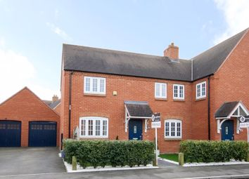Thumbnail 3 bed semi-detached house for sale in Cygnus Way, Brackley