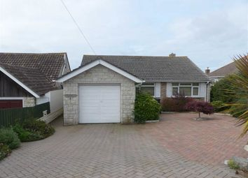 Thumbnail 2 bed detached bungalow for sale in Churchward Avenue, Weymouth, Dorset