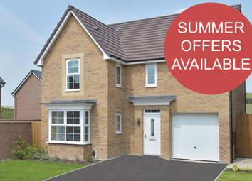 """Thumbnail 4 bed detached house for sale in """"Halstead"""" at Weddington Road, Nuneaton"""