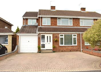 Thumbnail 4 bed semi-detached house for sale in Tyneham Road, Swindon
