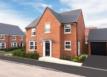 "Thumbnail 4 bed detached house for sale in ""Hollinwood"" at Hassall Road, Alsager, Stoke-On-Trent"