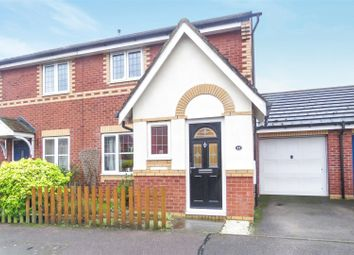 Thumbnail 3 bed semi-detached house for sale in Weavers Green, Sandy