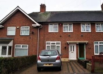 Thumbnail 2 bed terraced house for sale in Peplow Road, Kitts Green, Birmingham
