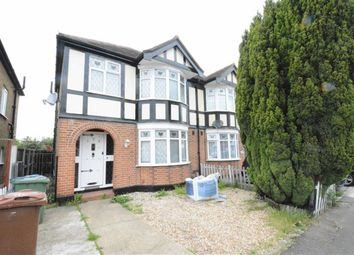 Thumbnail 3 bed semi-detached house to rent in Heathview Road, North Grays, Essex