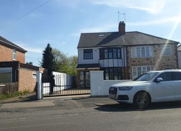 Thumbnail 4 bed semi-detached house for sale in Evington Drive, Leicester