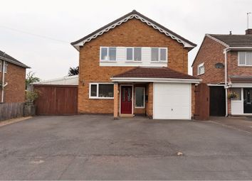 Thumbnail 4 bedroom detached house for sale in Ivydale Road, Thurmaston