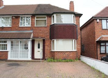 Thumbnail 3 bed end terrace house for sale in Hathersage Road, Great Barr, Birmingham