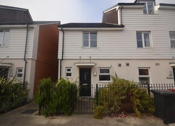 Thumbnail 2 bed terraced house for sale in St Agnes Way, Kennet Island