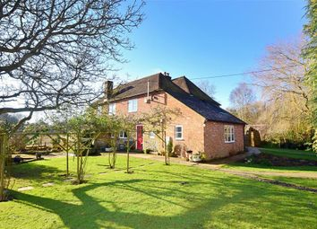 Thumbnail 7 bed detached house for sale in Bossingham Road, Stelling Minnis, Canterbury, Kent