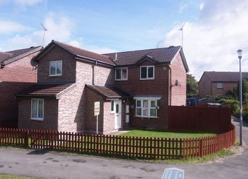 Thumbnail 4 bedroom detached house for sale in Friesian Close, Shaw, Swindon