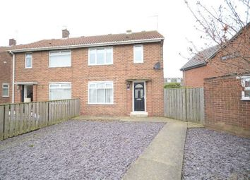 Thumbnail 2 bed semi-detached house for sale in Dene Way, Seaham