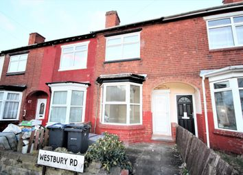 Thumbnail 3 bed terraced house to rent in Westbury Road, Edgbaston, Birmingham, West Midlands