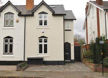 Thumbnail 4 bed semi-detached house to rent in Harrisons Road, Edgbaston, Birmingham