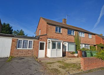 Thumbnail 3 bed semi-detached house for sale in Newlands Avenue, Didcot