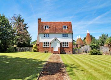 Thumbnail 5 bed detached house for sale in Hartlake Road, Tudeley, Tonbridge, Kent
