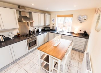 Thumbnail 3 bed end terrace house for sale in Four Seasons Close, Dunholme, Lincoln