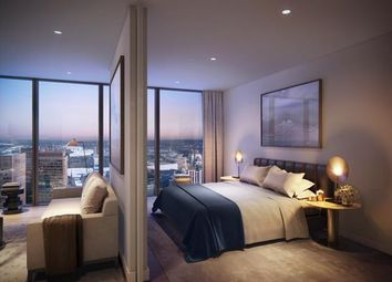 Thumbnail Studio for sale in The Landmark Pinnacle, Isle Of Dogs, London