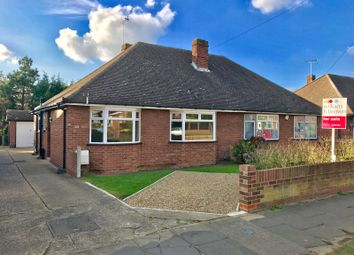 Thumbnail 2 bedroom semi-detached bungalow for sale in Chesterfield Drive, Ipswich
