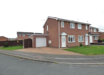 Thumbnail 2 bed semi-detached house for sale in Tamar Grove, Western Downes, Stafford, Staffordshire