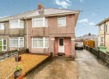 Thumbnail 3 bedroom semi-detached house for sale in Higher St Budeaux, Plymouth, Devon