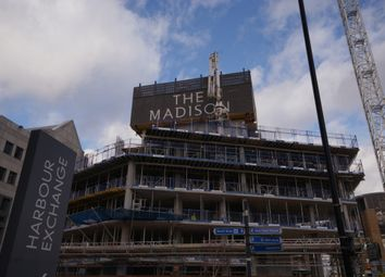 Thumbnail 1 bed flat for sale in The Madison, Marsh Wall, Isle Of Dogs