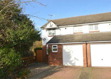 Thumbnail 3 bed end terrace house for sale in Eyston Drive, Weybridge, Surrey