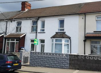 Thumbnail 4 bed terraced house for sale in St. Cenydd Road, Caerphilly