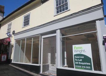 Thumbnail Retail premises to let in 1-1A, Scheregate, Colchester, Essex