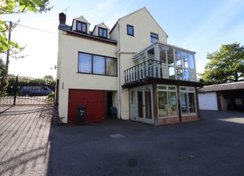 Thumbnail 3 bed detached house for sale in Wrexham Road, Pontblyddyn