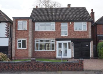 Thumbnail 4 bed detached house for sale in Buxton Road, Sutton Coldfield
