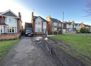 Thumbnail 3 bed detached house for sale in Welford Road, Knighton, Leicester