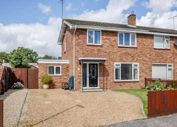 Thumbnail 3 bed semi-detached house for sale in 21 Butts Green, Whittlesford, Cambridge
