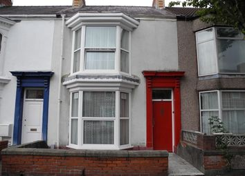 Thumbnail 5 bedroom terraced house to rent in Alexandra Terrace, Brynmill, Swansea.
