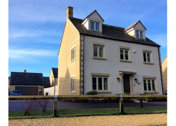 Thumbnail 5 bed detached house for sale in Bittern Close South Cerney, Cirencester