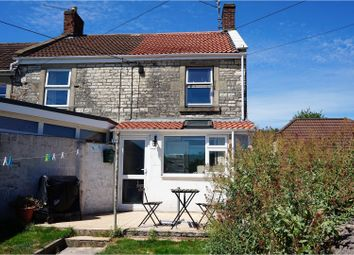 Thumbnail 2 bed end terrace house for sale in West Road, Radstock