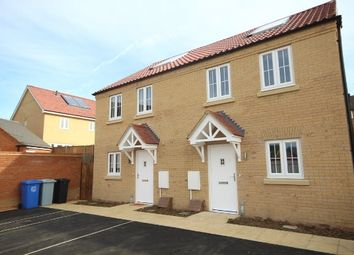 Thumbnail 3 bed semi-detached house to rent in Virginia Crescent, Burton Latimer, Kettering