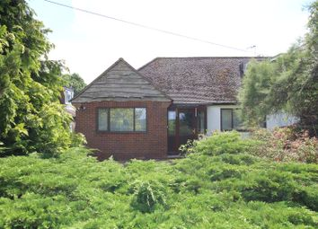 Thumbnail 2 bed semi-detached bungalow for sale in Singlets Lane, Flamstead, St. Albans, Hertfordshire