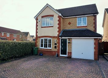 Thumbnail 4 bed detached house for sale in Ferndale, Peterborough