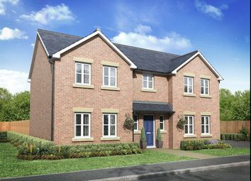 "Thumbnail 5 bed detached house for sale in ""The Hogarth"" at Surtees Drive, Willington, Crook"