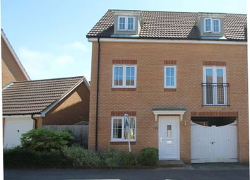 Thumbnail 5 bed semi-detached house for sale in Campbell Road, Hawkinge, Folkestone