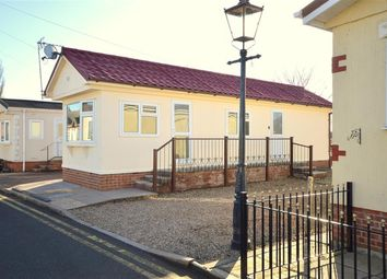 Thumbnail 1 bed mobile/park home for sale in Caravan Park, Unicorn Street, Thurmaston, Leicester