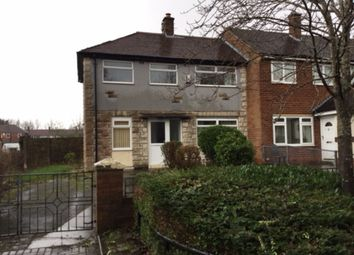 Thumbnail 2 bed end terrace house for sale in Alder Road, Ribbleton, Preston
