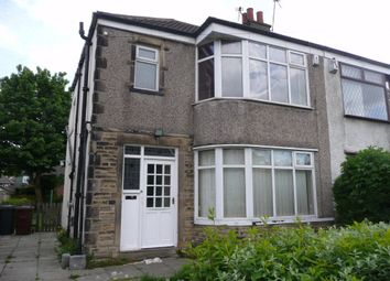Thumbnail 3 bed semi-detached house to rent in Ederoyd Avenue, Pudsey