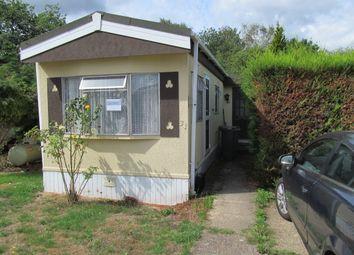 Thumbnail 2 bed mobile/park home for sale in Mytchett Farm Park, Mytchett, Nr Camberley, Surrey, 6Ab