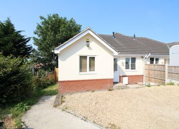 Thumbnail 3 bed semi-detached bungalow for sale in Blandford Road, Upton, Poole
