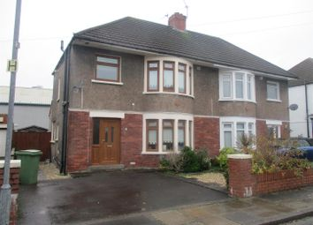 Thumbnail 3 bedroom semi-detached house for sale in St. Fagans Close, Fairwater, Cardiff