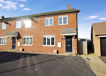 Thumbnail 3 bedroom end terrace house for sale in Wheatcroft Way, Swindon, Wiltshire