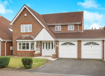 Thumbnail 5 bed detached house for sale in Barbel Drive, Wednesfield, Wolverhampton